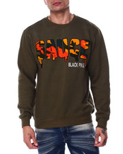 Men - Sauce Camo Chenille Crewneck Sweatshirt-2445102