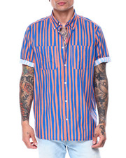 Mens-Holiday - NIMA UNEVEN STRIPE SS Woven Shirt-2444945