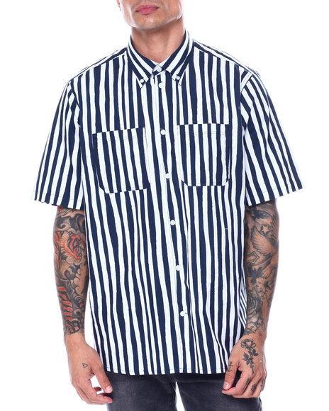 WESC - NIMA UNEVEN STRIPE SS Woven Shirt