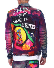 Preme - TIME IS MONEY Denim Jacket-2444978