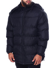 Big & Tall Faves - 3/4 Padded Coat W/Fleece Lining (B&T)-2440390