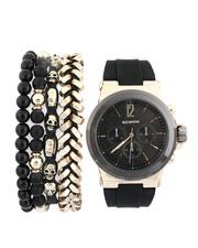 Stocking Stuffers Men - Watch & Stacked Bracelets Set-2440892