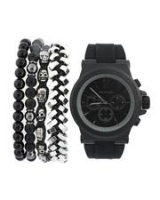 Stocking Stuffers Men - Watch & Stacked Bracelets Set-2440891
