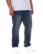 Buyers Picks - Stone Wash Sand Blast Denim Pants Relaxed Straight Fit (B&T)-2444398