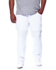 Jeans - Biker Style Twill Pants (B&T)-2444457