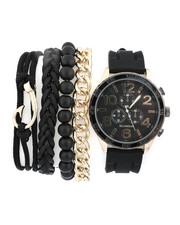 Rocawear - Watch & Stacked Bracelets Set-2440950