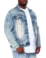 SMOKE RISE - Smoke Rise Denim Jacket (B&T)-2422650