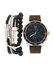 Rocawear - Watch & Stacked Bracelets Set-2440890