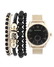 Rocawear - Watch & Stacked Bracelets Set-2440805