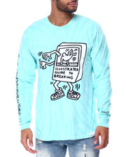 Diamond Supply Co - DMND X KEITH HARING BREAK DANCE L/S TEE-2447186
