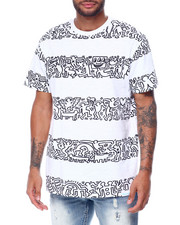 Diamond Supply Co - DMND X KEITH HARING STRIPES TEE-2447219
