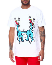 Diamond Supply Co - DMND X KEITH HARING STAND TOGETHER TEE-2447246