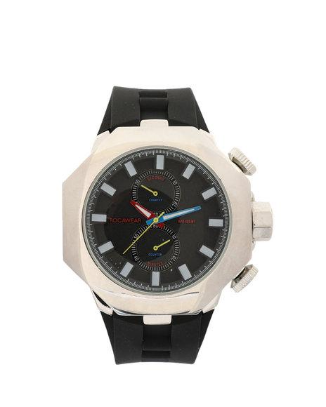 Rocawear - Silver Face Watch