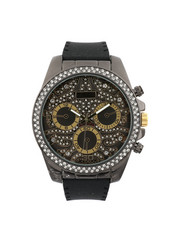 Stocking Stuffers Men - Hip-Hop Bling Bling Rubber Band Watch-2446001