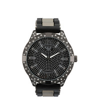 Stocking Stuffers Men - Hip-Hop Bling Bling Rubber Band Watch-2446007