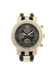 Jewelry & Watches - Hip-Hop Bling Bling Rubber Band Watch-2446010