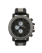 Stocking Stuffers Men - Hip-Hop Bling Bling Rubber Band Watch-2446011