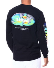 LRG - ALL WORLD LIFE MAKERS LS TEE-2446441