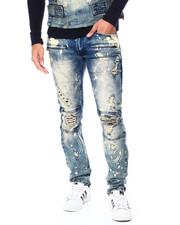 Makobi - Jeans w Plaid Contrast Jean-2447079