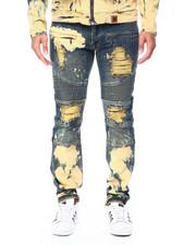 Makobi - Biker Jeans w Bleach Spot-2447068