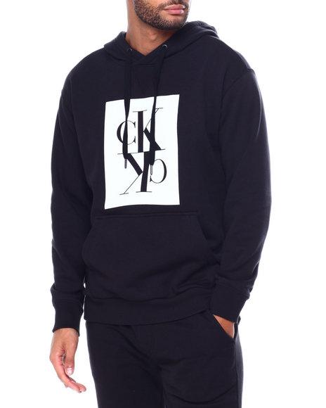 Calvin Klein - MIRROR POPOVER BOXY HOODIE