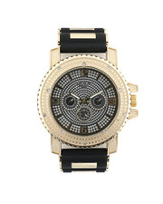 Jewelry & Watches - Hip-Hop Bling Bling Rubber Band Watch-2446016