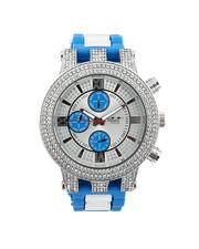 Buyers Picks - Hip-Hop Bling Bling Rubber Band Watch-2446003