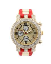 Buyers Picks - Hip-Hop Bling Bling Rubber Band Watch-2446014
