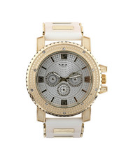 Jewelry & Watches - Hip-Hop Bling Bling Rubber Band Watch-2446006