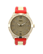 Jewelry & Watches - Hip-Hop Bling Bling Rubber Band Watch-2446017