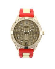 Buyers Picks - Hip-Hop Bling Bling Rubber Band Watch-2446017