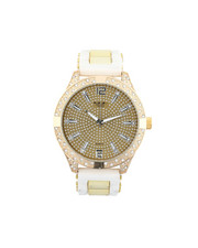 Jewelry & Watches - Hip-Hop Bling Bling Rubber Band Watch-2446005