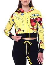 Women - SpongeBob Laughaholic Crop Hoody-2448189