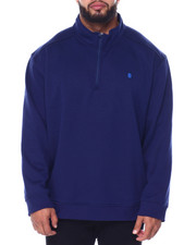 Izod - L/S Advantage Solid 1/4 Zip Sweater-2447145