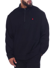 Izod - L/S Advantage Solid 1/4 Zip Sweater-2448852