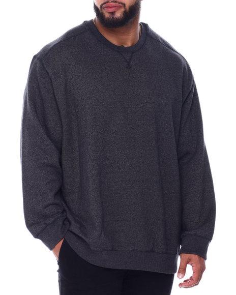Bass By Ron Bass - L/S Mountain Fleece Crew Sweatshirt (B&T)