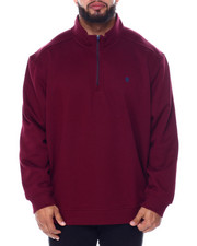 Izod - L/S Advantage Solid 1/4 Zip Sweater-2448867
