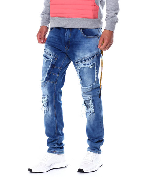 Buyers Picks - Blown out Pocket Cargo Stretch Jean