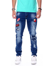 Holiday Shop - Sweet Treats Patch Jeans w Bee Pin-2448560