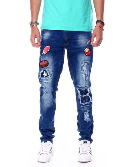 Buyers Picks - Sweet Treats Patch Jeans w Bee Pin