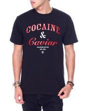 Crooks & Castles - COCAINE and CAVIAR TEE-2448613