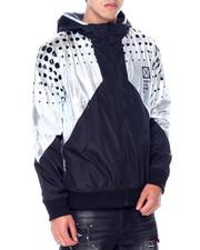 Buyers Picks - Metallic Polar Fleece Lined Hooded Jacket-2448736