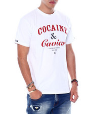 Crooks & Castles - COCAINE and CAVIAR TEE-2448635