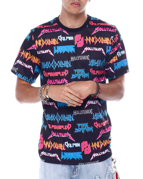 Pink Dolphin - HOLIDAY PORTRAIT TEE
