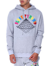 Black Pyramid - Colors Drip Logo Hoody-2447180