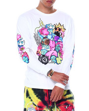 Pink Dolphin - SQUADS HERE LS TEE-2448347