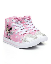 Girls - Minnie Mouse High Top Sneakers (7-12)-2447376