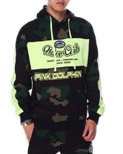Pink Dolphin - OG CAMO HOODIE-2448465