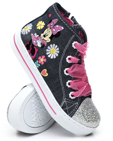 La Galleria - Minnie Mouse High Top Sneakers (5-11)