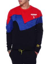 Buyers Picks - Colorblock Hood Crewneck Sweatshirt-2448679
